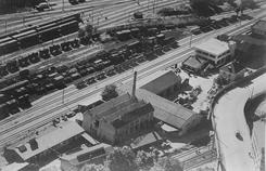 Fabrikken i 1951, Foto: Oslo Byarkiv